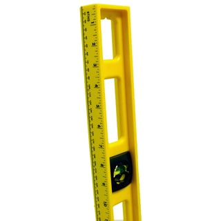 "Mayes 10102 48"" Yellow Structural Foam Level"