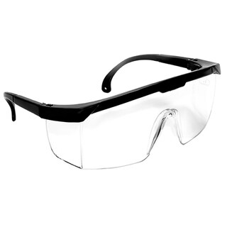SAS Safety Corporation 5270 Hornets Black Frame Polycarbonate Safety Glasses