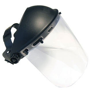"SAS Safety Corporation 5140 8"" X 15-1/2"" Clear Face Sheild"