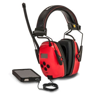 Sperian Safety Wear RWS-53012 AM/FM Sync Earmuff With MP3 Jack