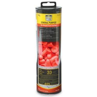 Sperian Safety Wear RWS-53008 Orange Foam Earplugs 60 Pair