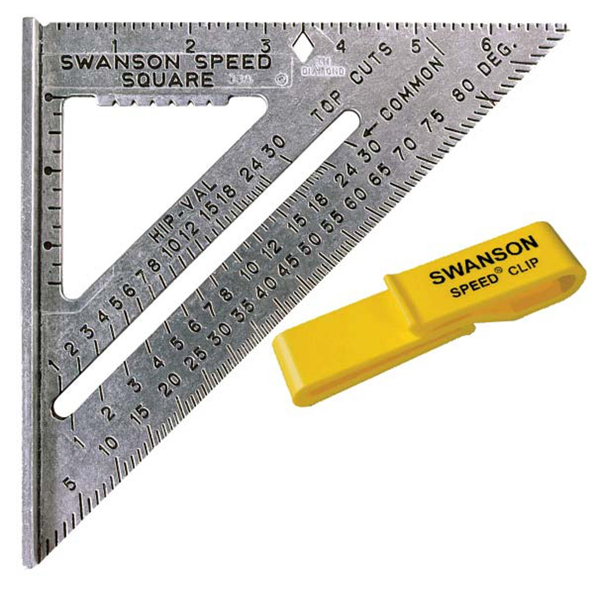 Swanson S0101C Value Pack Speed Square (Measures&levels),...