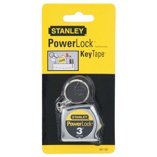 Stanley Hand Tools 39-130 3' PowerLock Key Tape Rule