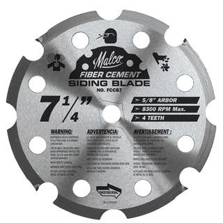 "Malco FCCB7 7-1/4"" Fiber Cement Circular Saw Blade"