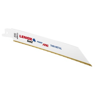 "Lenox 21072624GR 6"" 24 TPI Reciprocating Saw Blades For Cutting Metal 5-count"