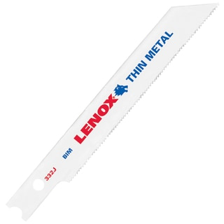 "Lenox 20609BT332J 3-5/8"" 32 TPI Metal Cutting Bi Metal U Shank Jig Saw Blades"