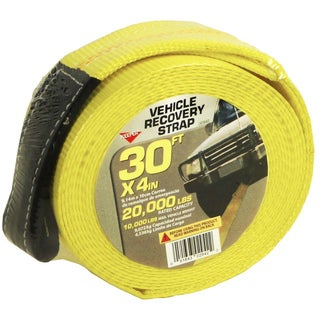 Keeper 02942 4-inch X 30' Vehicle Recovery Strap