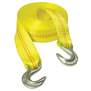 Keeper 02815 15' Yellow Emergency Tow Strap