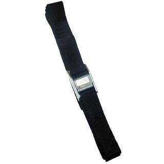 CLC Work Gear WS12 12' Black Strap-It Tie-Down Straps