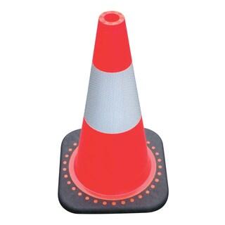 SAS Safety Corporation 7501-18 18-inch Red-Orange Safety Cone