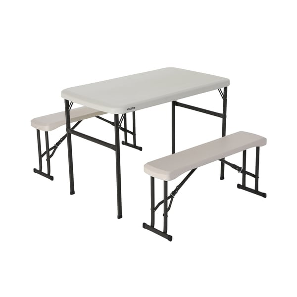 Lifetime Recreational Table and Bench Set