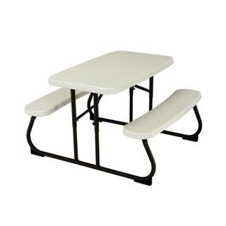 Lifetime Children's Beige Picnic Table