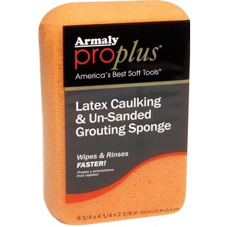 Armaly Brands 00602-6 ProPlus Latex Caulking & Un-Sanded Grouting Sponge