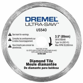 "Dremel US540-01 3-1/2"" Diamond Tile Cutting Wheel"