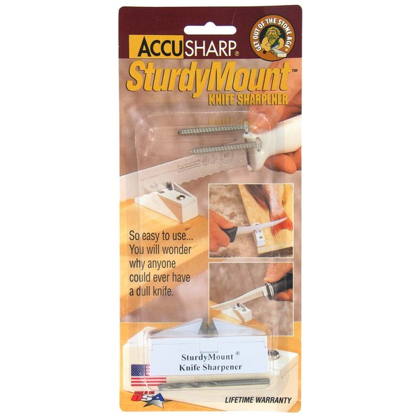 Fortune Products 004 Accusharp SturdyMount Knife Sharpener