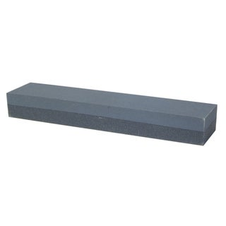 "Norton 85440 4"" x 1-3/4"" x 5/8"" Crystolon Bench Coarse/Fine Stone"