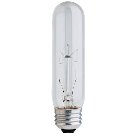 Feit Electric BP40T10 40 Watt Clear T10 Long Life Tubular Light Bulbs
