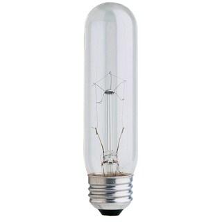 Feit Electric BP40T10 40 Watt Clear T10 Long Life Tubular Light Bulbs