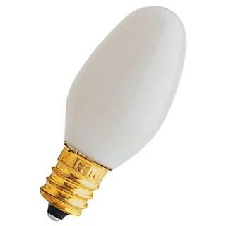 Feit Electric BP7C7/W/4 7 Watt White Long Life Night Light Bulbs 4-count
