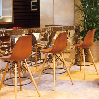 Mod Made Mid Century Modern Paris Tower Barstool (Set of 2)