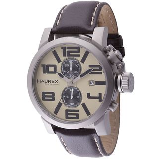 Haurex Italy Turbina II Men's Beige Watch
