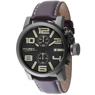 Haurex Italy Turbina II Men's Black Watch