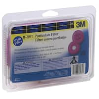 3M 2091PA1-A Respirator Mask Replacement Particulate Filters