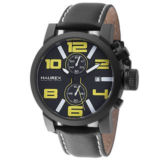 Haurex Italy Turbina II Men's Black Watch