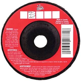 "Vermont American 17458 4-1/2"" X 1/8"" X 7/8"" Metal Cutting Grinding Wheel"