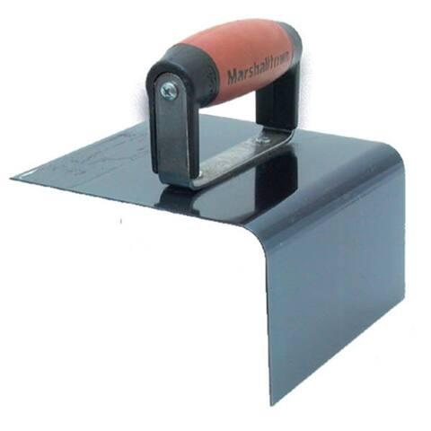 "Marshalltown 175BD 6"" X 6"" X 3"" 90º Blue Steel Nose Type Step Tool"