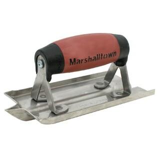 """Marshalltown 180D 3"""" X 6"""" Stainless Steel Groover"""