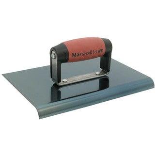 "Marshalltown 163BD 6"" X 6"" Straight End Blue Steel Hand Edger"