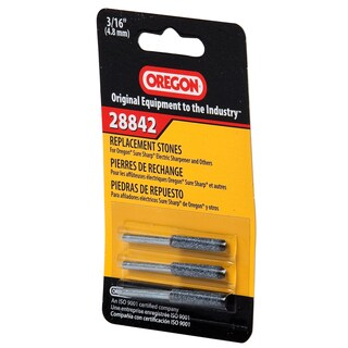 """Oregon 28842 3/16"""" File Replacement Stones 3-count