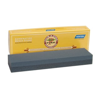 "Norton 85455 8"" Crystolon Bench Coarse/Fine Stone"