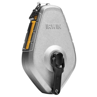 Irwin 1932871 50' Aluminum STRAIT-LINE Chalk Reel