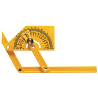 General 29 Plastic Protractor