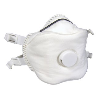 SAS Safety Corporation 8641 P100 Particulate Respirator With Valve 2-count