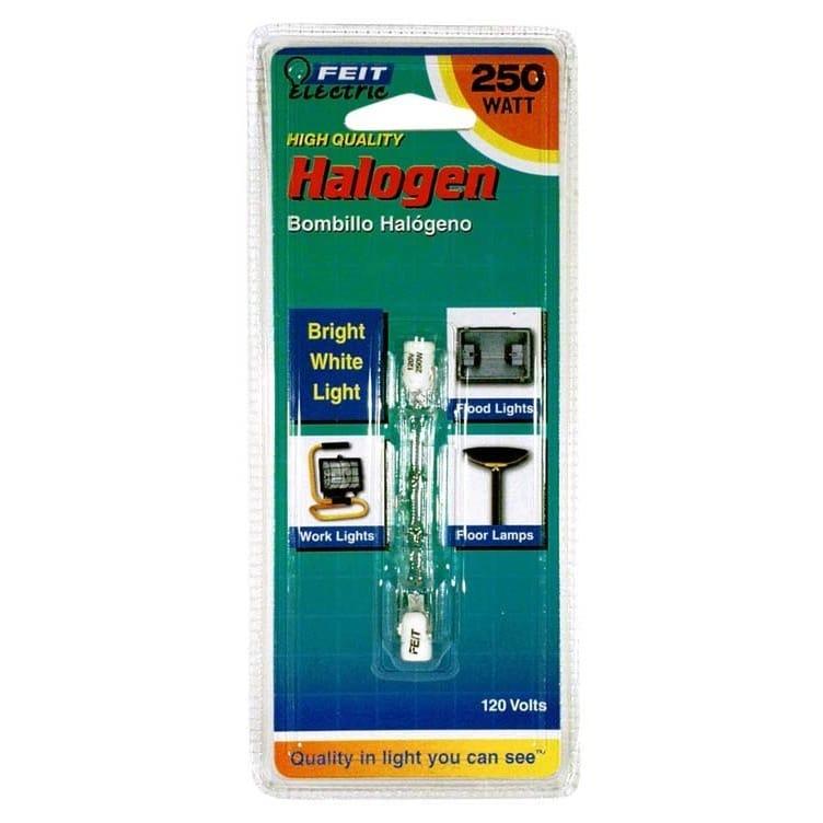FEIT Electric BPQ250T3/CL/S Double Ended T3 Halogen Quart...
