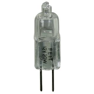 Feit Electric BPQ20/G8 20 Watt Halogen Clear G8 Base 120 Volt Bulb