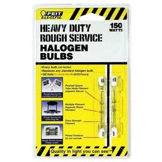 Feit Electric BPQ150T3CLRS2 150 Watt Heavy Duty Double Ended T3 Halogen Bulb