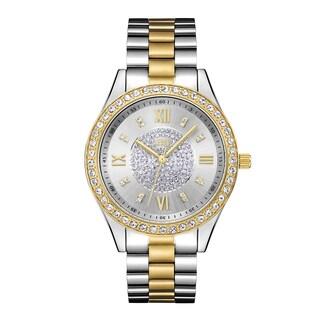 JBW Women's Two-tone Stainless Steel Diamond Mondrian J6303G Watch