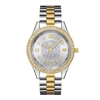 JBW Women's Two-tone Stainless Steel Diamond Mondrian Watch