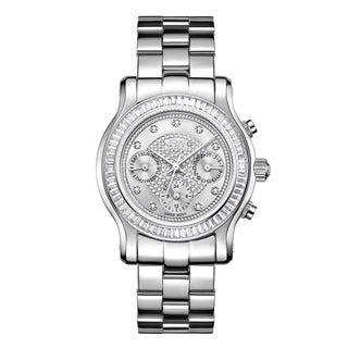 JBW Stainless Steel Women's 'Laurel' J6330B Diamond Watch