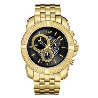 JBW Men's 18k Goldplated Stainless Steel Warren J6331A Chronograph Watch