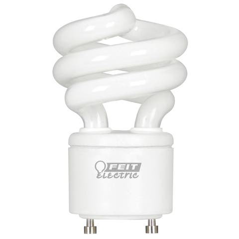 Feit Electric BPESL13TGU24/2 13 Watt GU24 CFL EcoBulb Pack 2-count