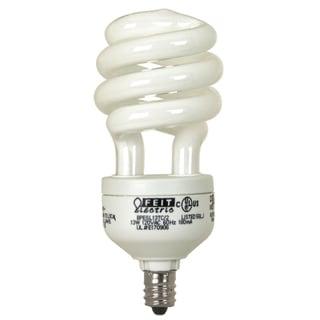 Feit Electric BPESL13TC/2 13 Watt White Candelabra Base Compact Fluorescent Light Bulb