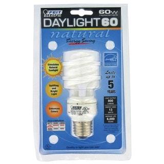 Feit Electric BPESL13T/D 13 Watt Daylight 60 CFL Sprial Bulb