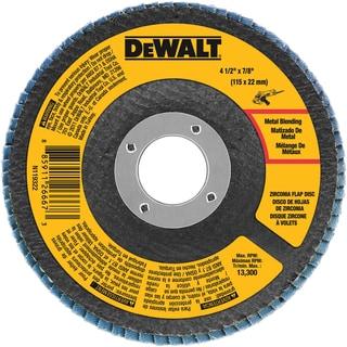 "DeWalt DWA8208 4-1/2"" 80 Grit Flap Disc"