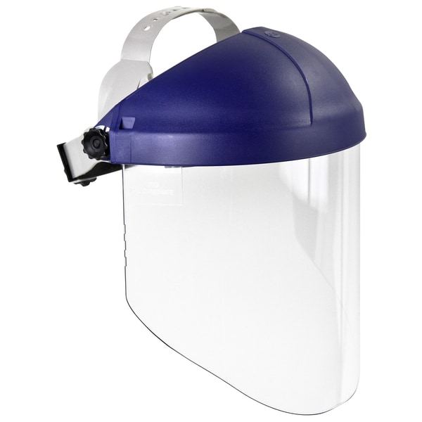 3M 82783-00000 Clear Polycarbonate Faceshield With Ratchet Headgear