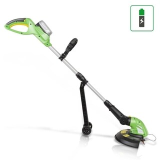 SereneLife PSLCGM25 Electric Cordless Grass Trimmer Edger